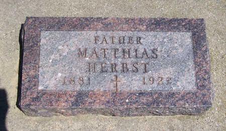 HERBST, MATTHIAS (FATHER) - Shelby County, Iowa | MATTHIAS (FATHER) HERBST