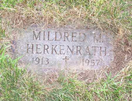 HERKENRATH, MILDRED M. - Shelby County, Iowa | MILDRED M. HERKENRATH