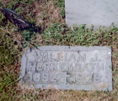 HERKENRATH, WILLIAM J. - Shelby County, Iowa   WILLIAM J. HERKENRATH