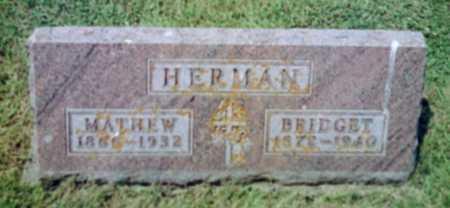 HERMAN, MATHEW - Shelby County, Iowa   MATHEW HERMAN
