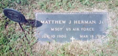 HERMAN, MATTHEW J. - Shelby County, Iowa   MATTHEW J. HERMAN