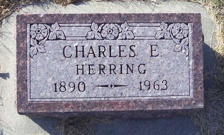 HERRING, CHARLES E. - Shelby County, Iowa   CHARLES E. HERRING
