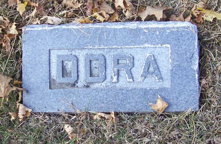HILBORN, DORA - Shelby County, Iowa   DORA HILBORN