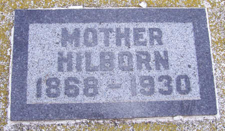 HILBORN, MOTHER - Shelby County, Iowa | MOTHER HILBORN