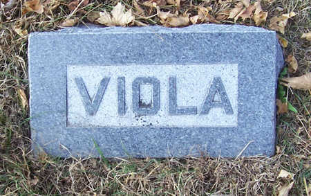 HILBORN, VIOLA - Shelby County, Iowa | VIOLA HILBORN
