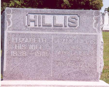 HILLIS, FRANK & ELIZABETH - Shelby County, Iowa | FRANK & ELIZABETH HILLIS