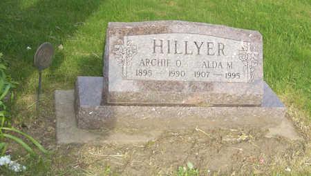 HILLYER, ALDA M. - Shelby County, Iowa | ALDA M. HILLYER