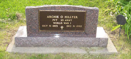 HILLYER, ARCHIE O. (MILITARY) - Shelby County, Iowa | ARCHIE O. (MILITARY) HILLYER