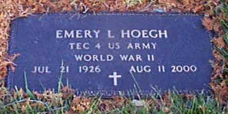 HOEGH, EMERY L - Shelby County, Iowa | EMERY L HOEGH