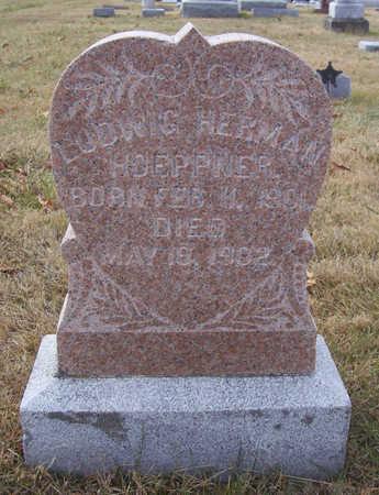 HOEPPNER, LUDWIG HERMAN - Shelby County, Iowa | LUDWIG HERMAN HOEPPNER