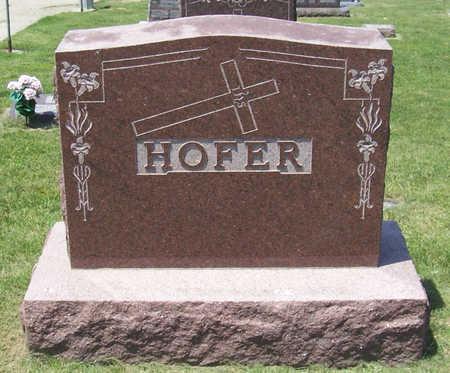 HOFER, JOSEPH & ANNA (LOT) - Shelby County, Iowa   JOSEPH & ANNA (LOT) HOFER