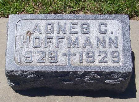 HOFFMANN, AGNES C. - Shelby County, Iowa | AGNES C. HOFFMANN