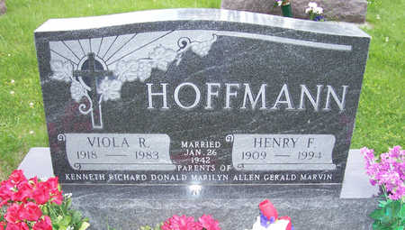 HOFFMANN, HENRY F. - Shelby County, Iowa | HENRY F. HOFFMANN