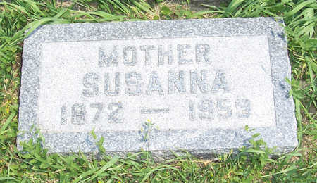 WINGERT HOFFMANN, SUSANNA - Shelby County, Iowa | SUSANNA WINGERT HOFFMANN