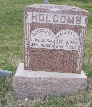 HOLCOMB, CHAUNCEY S. - Shelby County, Iowa | CHAUNCEY S. HOLCOMB