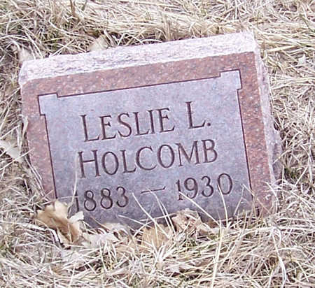 HOLCOMB, LESLIE - Shelby County, Iowa | LESLIE HOLCOMB