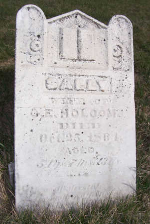 HOLCOMB, SALLY - Shelby County, Iowa | SALLY HOLCOMB