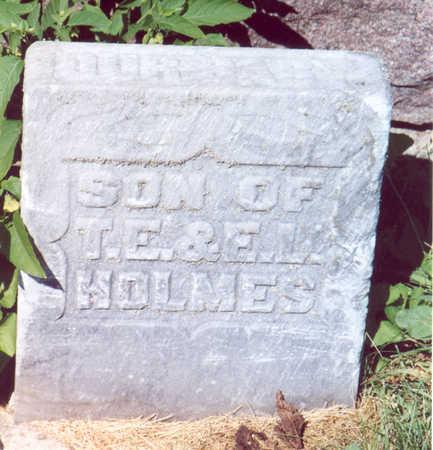 HOLMES, BABY - Shelby County, Iowa   BABY HOLMES