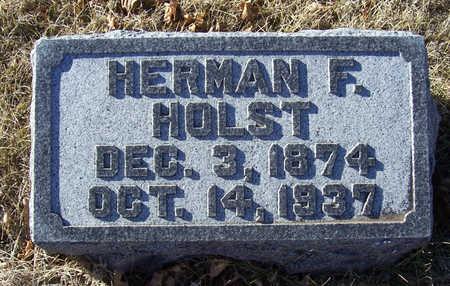 HOLST, HERMAN F. - Shelby County, Iowa | HERMAN F. HOLST
