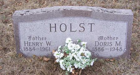 HOLST, HENRY W. (FATHER) - Shelby County, Iowa | HENRY W. (FATHER) HOLST