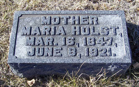 HOLST, MARIA (MOTHER) - Shelby County, Iowa   MARIA (MOTHER) HOLST
