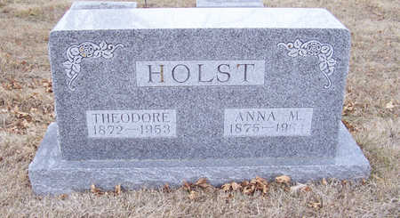HOLST, ANNA M. - Shelby County, Iowa | ANNA M. HOLST