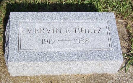 HOLTZ, MERVIN E. - Shelby County, Iowa | MERVIN E. HOLTZ