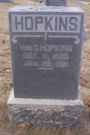 HOPKINS, MRS. C. - Shelby County, Iowa | MRS. C. HOPKINS