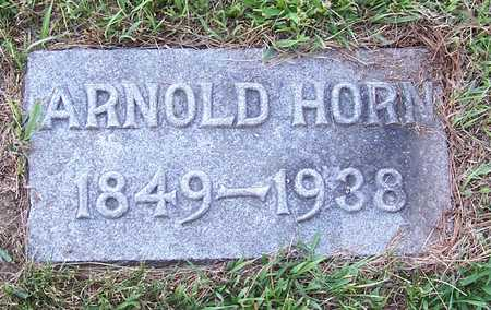 HORN, ARNOLD - Shelby County, Iowa | ARNOLD HORN