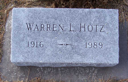 HOTZ, WARREN L. - Shelby County, Iowa | WARREN L. HOTZ