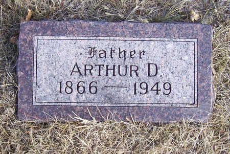 HOWLAND, ARTHUR D. (FATHER) - Shelby County, Iowa   ARTHUR D. (FATHER) HOWLAND