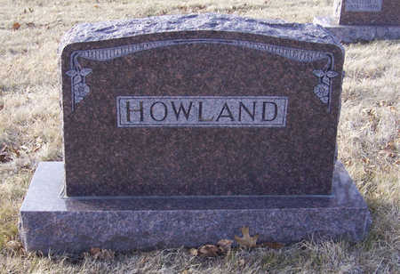 HOWLAND, ARTHUR D. & LAURA J. (LOT) - Shelby County, Iowa | ARTHUR D. & LAURA J. (LOT) HOWLAND