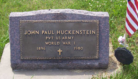 HUCKENSTEIN, JOHN PAUL (MILITARY) - Shelby County, Iowa | JOHN PAUL (MILITARY) HUCKENSTEIN