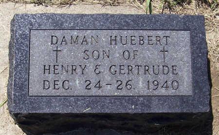 HUEBERT, DAMAN - Shelby County, Iowa | DAMAN HUEBERT
