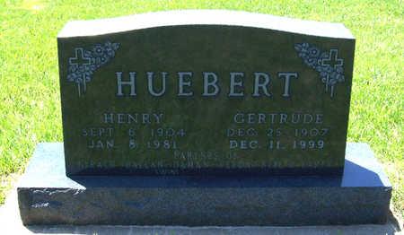 LEINEN HUEBERT, GERTRUDE - Shelby County, Iowa   GERTRUDE LEINEN HUEBERT