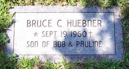 HUEBNER, BRUCE C. - Shelby County, Iowa   BRUCE C. HUEBNER