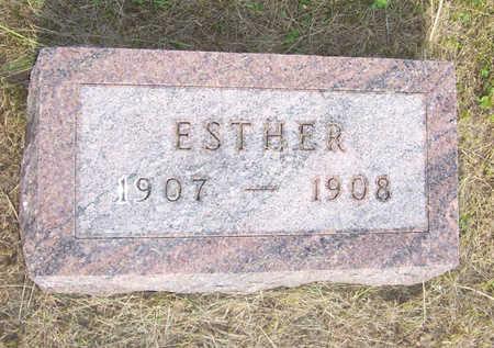 HUGHES, ESTHER - Shelby County, Iowa | ESTHER HUGHES