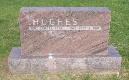 HUGHES, LENORA - Shelby County, Iowa   LENORA HUGHES
