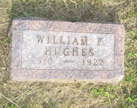 HUGHES, WILLIAM F. - Shelby County, Iowa   WILLIAM F. HUGHES