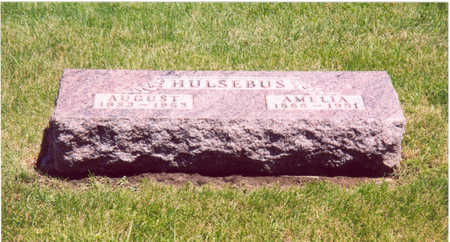 HULSEBUS, AUGUST - Shelby County, Iowa | AUGUST HULSEBUS