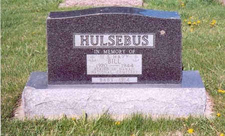 HULSEBUS, BILL - Shelby County, Iowa   BILL HULSEBUS
