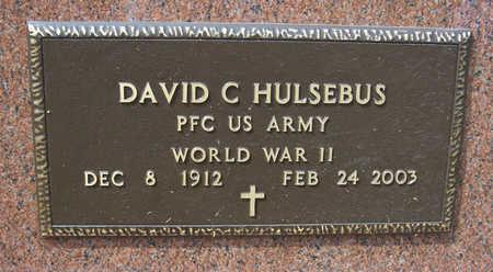 HULSEBUS, DAVID C. (MILITARY) - Shelby County, Iowa | DAVID C. (MILITARY) HULSEBUS
