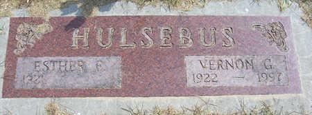 HULSEBUS, ESTHER E. - Shelby County, Iowa | ESTHER E. HULSEBUS
