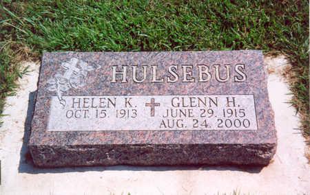 HULSEBUS, GLENN H. - Shelby County, Iowa | GLENN H. HULSEBUS