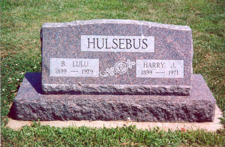 HULSEBUS, HARRY J. - Shelby County, Iowa | HARRY J. HULSEBUS