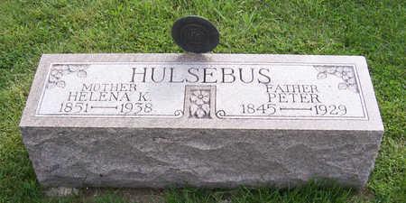HULSEBUS, HELENA K. - Shelby County, Iowa   HELENA K. HULSEBUS