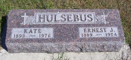 HULSEBUS, KATE - Shelby County, Iowa   KATE HULSEBUS