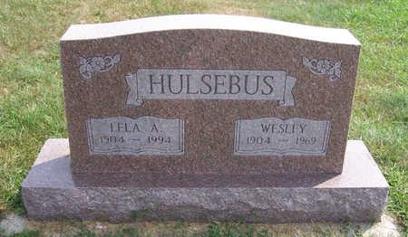 HULSEBUS, LELA A. - Shelby County, Iowa | LELA A. HULSEBUS