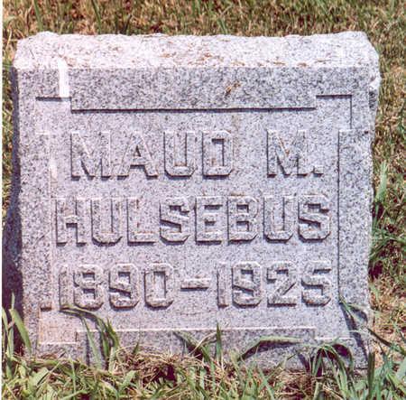 HULSEBUS, MAUD M. - Shelby County, Iowa | MAUD M. HULSEBUS