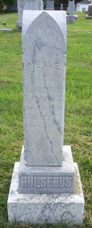 HULSEBUS, MENA E. - Shelby County, Iowa   MENA E. HULSEBUS
